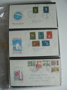 The Netherlands 1954/1964 - Collection of FDCs between NVPH E18 and E66