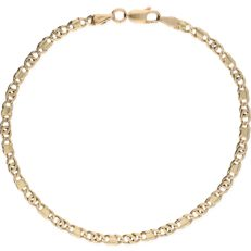 14 kt - Yellow gold curb link bracelet - Length: 20.5 cm