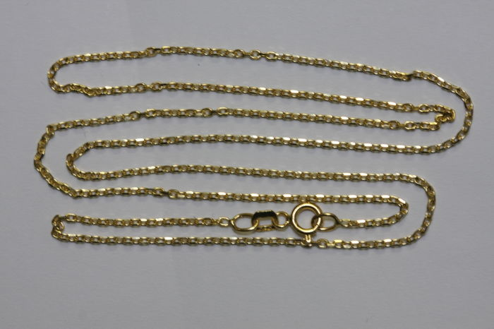 14 kt gold necklace chain - 50 cm