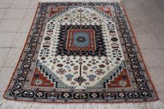 Wonderful Iran Persian rug Handknotted 186x136 cm Top Quality & Condition