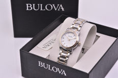 Bulova Luxury Diamonds watch with diamonds on the dial - Two-tone 18 kt gold-plated steel case and strap
