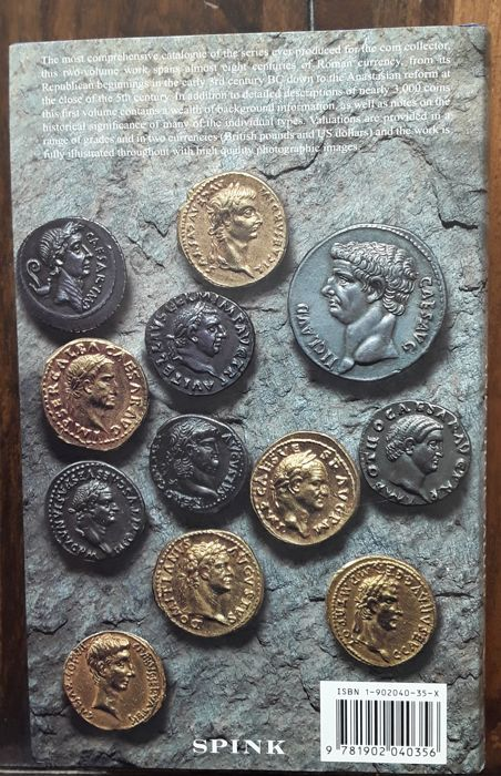 2 Catalogues: Roman Coins and their values (volume 1) and Greek