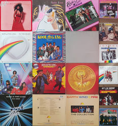 Funk Collection: Kool & the Gang, Rufus & Chaka Khan, Earth, Wind & Fire: 11 Albums + 6 singles