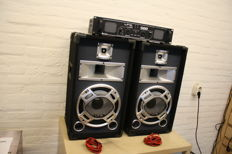 DJ sound set 2x 250W