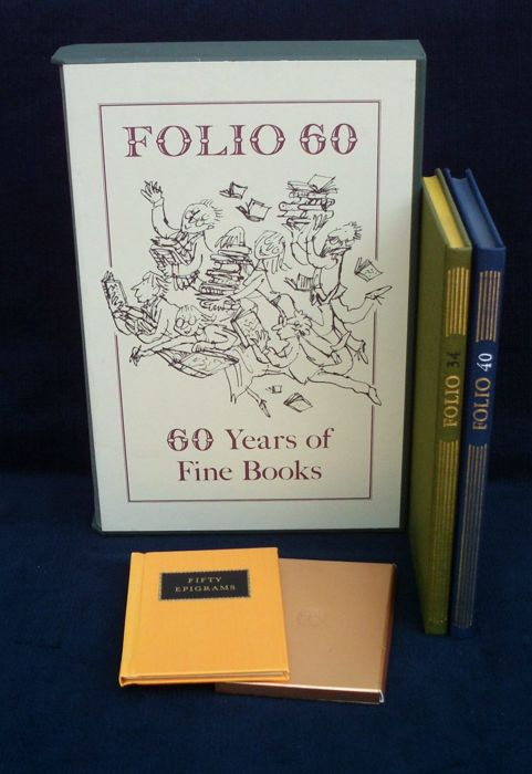 Lot of 4 books about The Folio Society – 1981/2007