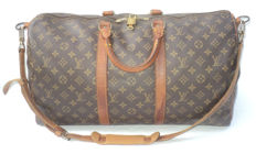 Louis Vuitton - Monogram Keepall Bandoulière 50 Travel Bag
