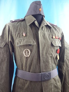 Germany - Original Uniform East Germany´s Secret Police, Inteligen and Security Service ( STASI)