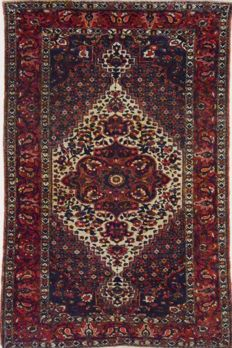 Persian carpet, Mobarakeh completely natural colours, 210 x 137 cm