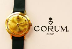 Corum – yellow gold 18 kt / 750 vintage watch – 1023 – ladies' – 1970-1979
