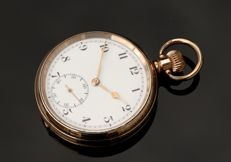 Un signed  pocket watch - Ανδρικά - 1901-1949