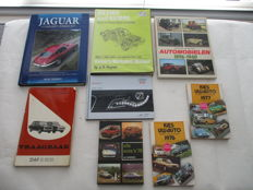 Lot of 8 Automobile books - beautiful reference works