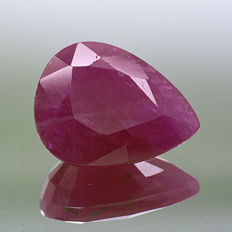 Ruby - 3.38 ct