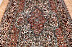 Fantastic & beautiful Indo Quom / Gom 100% pure Silk 302x187 cm Hand-knotted 500000 knots M/2 TOP Quality & Condition