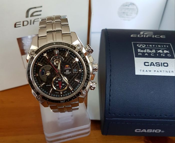 9fa436fce22a Red Bull CASIO watch Limid Edition Sebastian Vettel - Catawiki