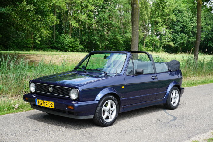 volkswagen golf 1 1 8 convertible 1992 catawiki. Black Bedroom Furniture Sets. Home Design Ideas