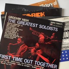 Screaming Jay Hawkins, Jimmy Smith (Verve), rare sampler LP incl. Eric Dolphy, Bill Evans, etc. lot of 6 Jazz LP's