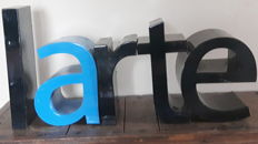 Vintage decoration letters