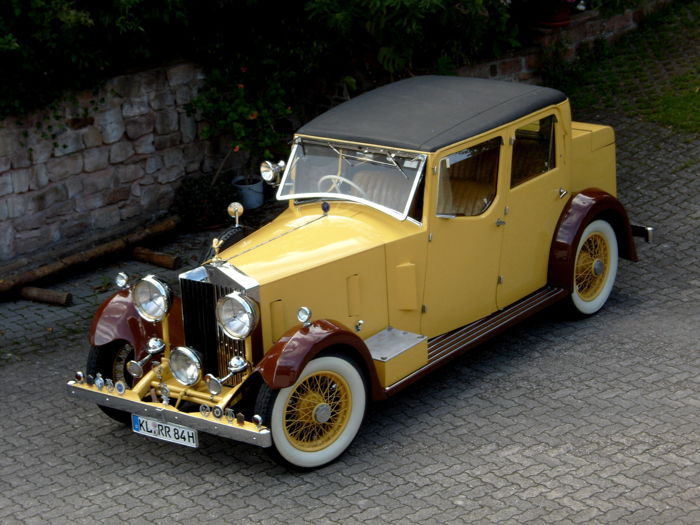 Rolls Royce 20/25 HP - hunting car - BJ. 1933