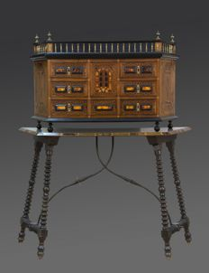 Bargueño desk, Italy/Spain, end 19th century