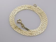 18 kt gold necklace. Length: 40 cm ***No reserve price***