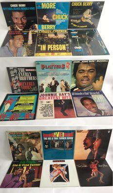 A very nice collection of 18 Funk, Soul and Blues records