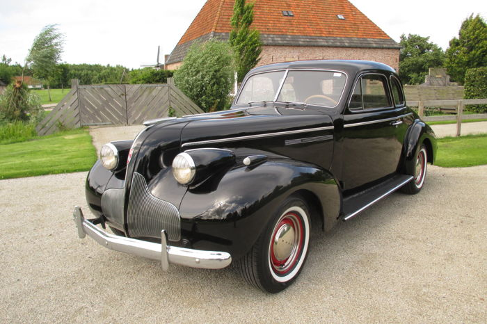 Buick - Century coupe - 1939