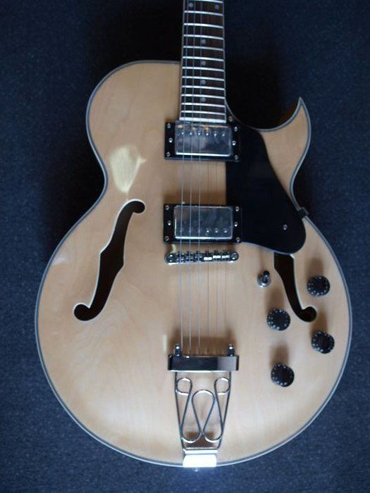 New ChS Hollowbody (ES-175-model) in Transparent Natural