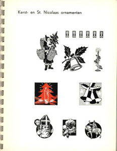Catalogue of types - lot with 3 editions - no date/1964
