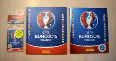 Panini - Euro 2016 France - Swiss Star Edition + HC Edition - Complete album + Empty album.