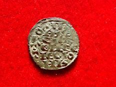 Spain, Alfonso X of Castilla 'the Wise' (1252-1284), fleece money of six lines. Mint mark: O