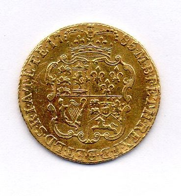 Great Britain – Guinea – 1785 – George III – gold