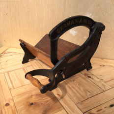 Germania - antique bread cutter from approx. 1910