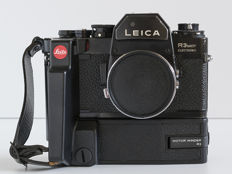 Lot consisting of 1 analogue camera Leica R3 Mot Electronic