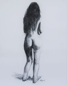 Original work; Terence Kelly -  Nude study - 2017