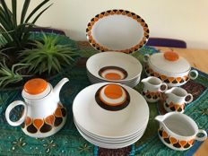 Vintage/Brocante Bavaria Winterling porcelain tableware