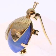 Vintage beetle brooch from the forties/fifties, reduced price