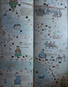 Atlas; Cresques Abraham - Catalan Atlas - 1983