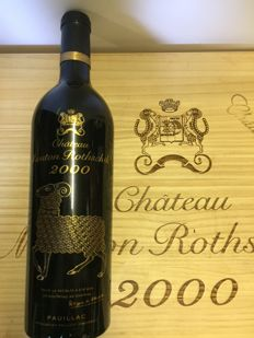 2000 Chateau Mouton Rothschild, Pauillac 1er Grand Cru Classé - 1 perfect bottle (75cl)