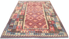 DOUBLE FACE NEW Afghan Oriental Hand Woven Veg Dyes Kelim Large Area Rug 292 cm x 195 cm