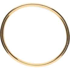 14 kt - yellow gold baangle - diameter: 5.6 cm.