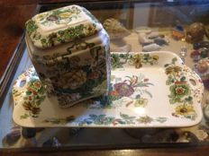 Mason's Ironstone, English Ivory Decorated Ceramic