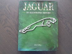 Book; John Collins - Jaguar An illustrated history - 1998