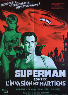 Guy Gerard Noel - Superman contre l'invasion des martiens (Science-Fiction) - 1967
