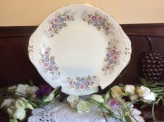 Collection of 11 porcelain serving cake/sandwich plates