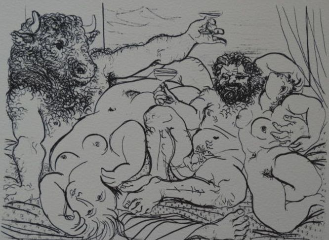 Pablo Picasso (after) - Vollard Suite