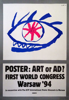 Jan Lenica - Poster: Art or Ad? -1994