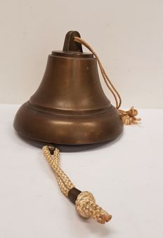 Large Copper Ship's Bell
