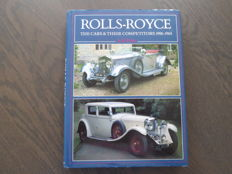 Book; A.B. Price - Rolls Royce The cars & their competitors - 1986