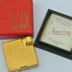 Alfred DUNHILL PARIS, lighter, SAVORY - France, late 20th century