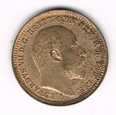 Great Britain for Malta - 1/3 Farthing 1902